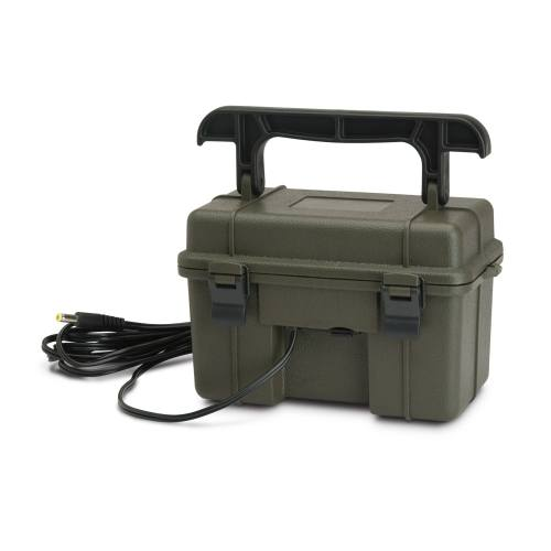 12v-battery-box batterie externe pour piège photo caméra de chasse stealth cam browning