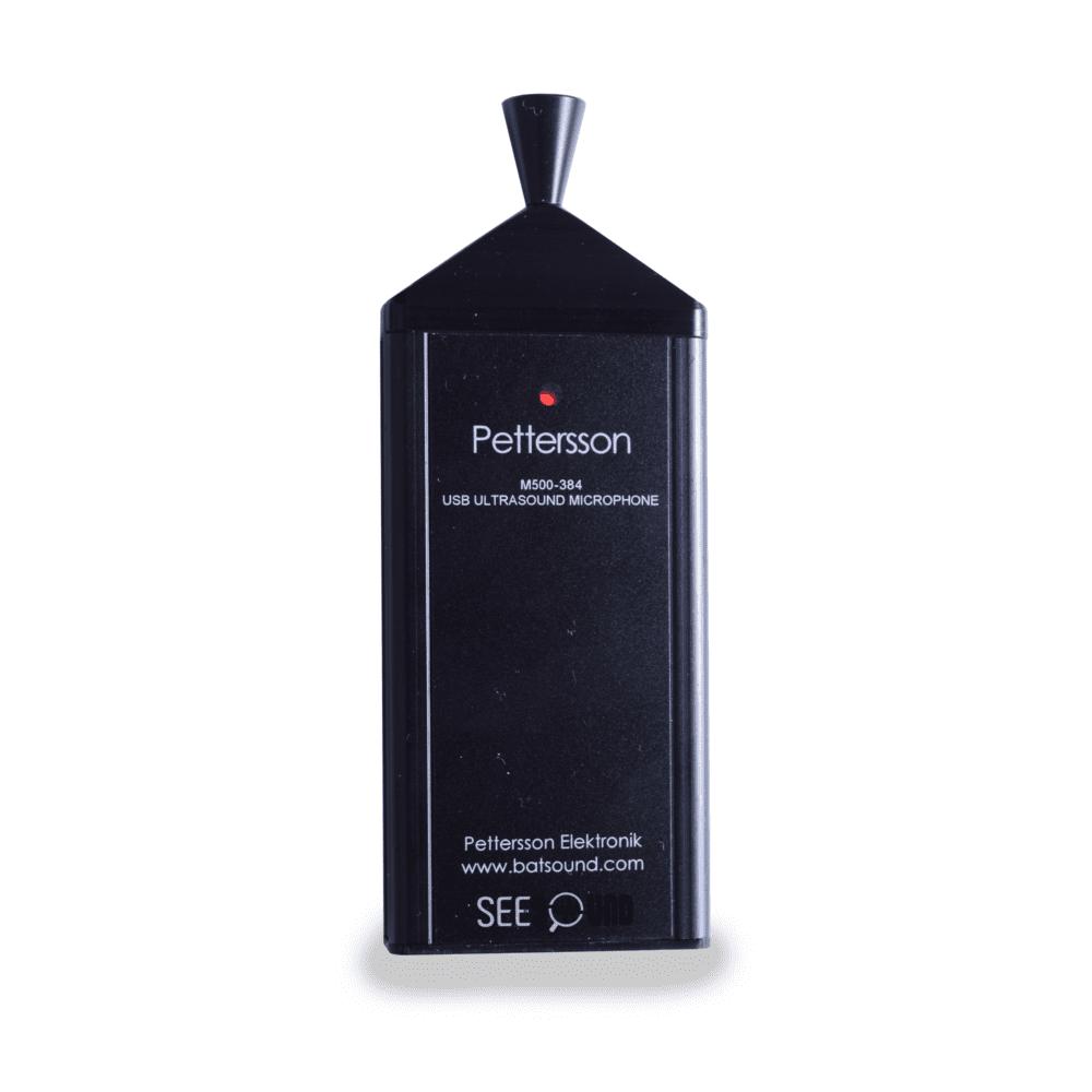 Pettersson M500 384 Bat detector microphone ultrason cris chauves souris USB V2