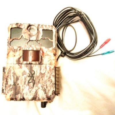 câble d'alimentation pour piège photo 12v 6v stealthcam browning spec ops dark ops câble coudé batterie piège photographique
